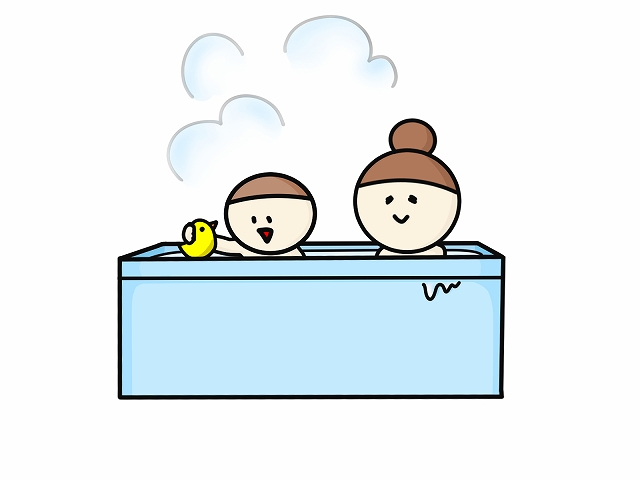 子供とお風呂